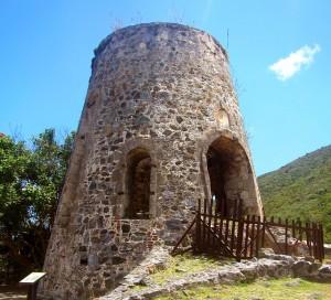 Annaberg Sugar Plantation ruins
