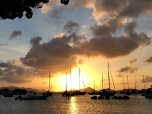 Sunset St. John USVI