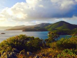 View from Ram Head, Salt Pond, St John US Virgin Islands