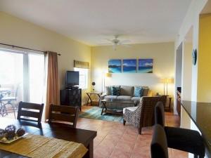 Egret's Rest Living Room - Grande Bay Resort St John USVI